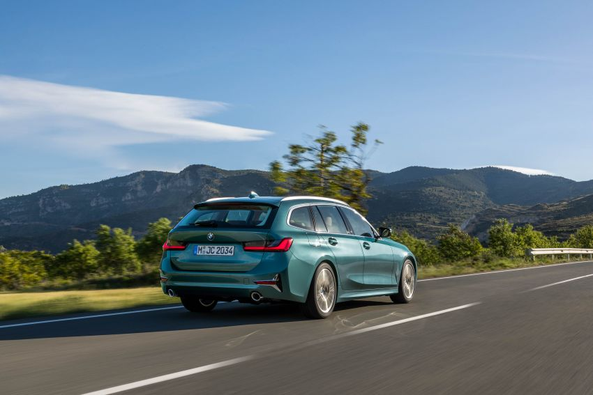 G21 BMW 3 Series Touring debuts – better practicality Image #970524