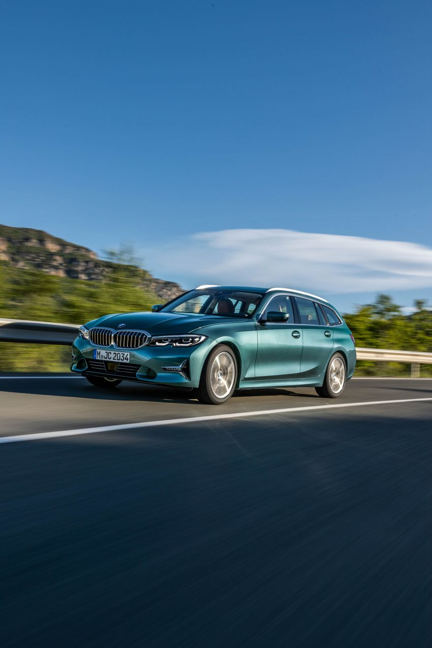 G21 BMW 3 Series Touring debuts – better practicality Image #970525