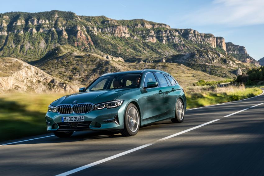 G21 BMW 3 Series Touring debuts – better practicality Image #970526