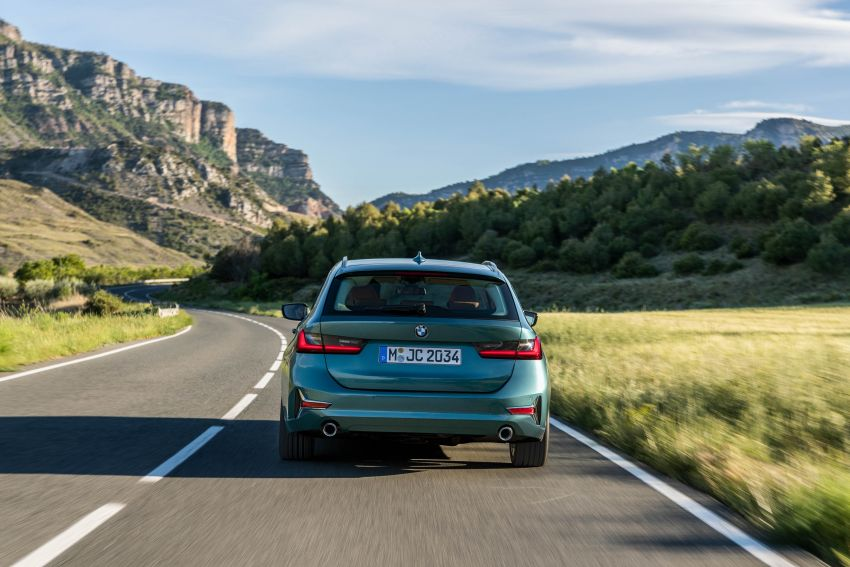 G21 BMW 3 Series Touring debuts – better practicality Image #970527