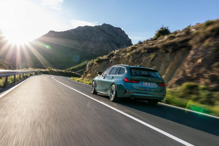 G21 BMW 3 Series Touring debuts – better practicality Image #970528