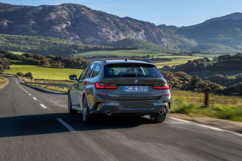 G21 BMW 3 Series Touring debuts – better practicality Image #970475