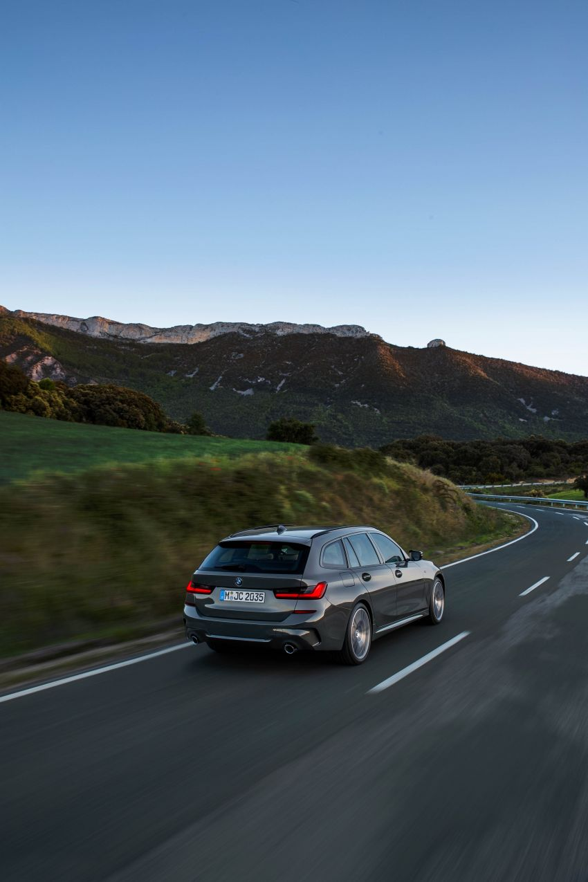 G21 BMW 3 Series Touring debuts – better practicality Image #970481