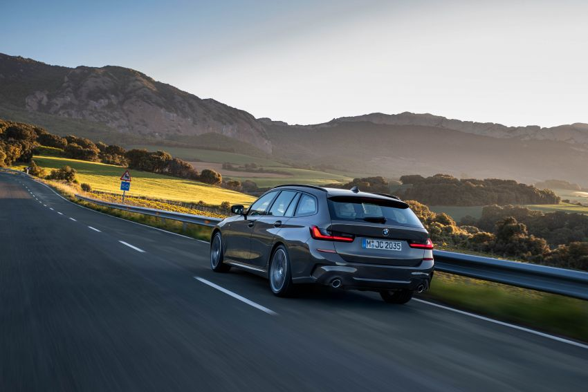 G21 BMW 3 Series Touring debuts – better practicality Image #970482