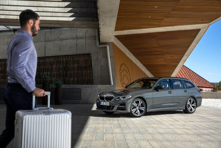 G21 BMW 3 Series Touring debuts – better practicality Image #970502
