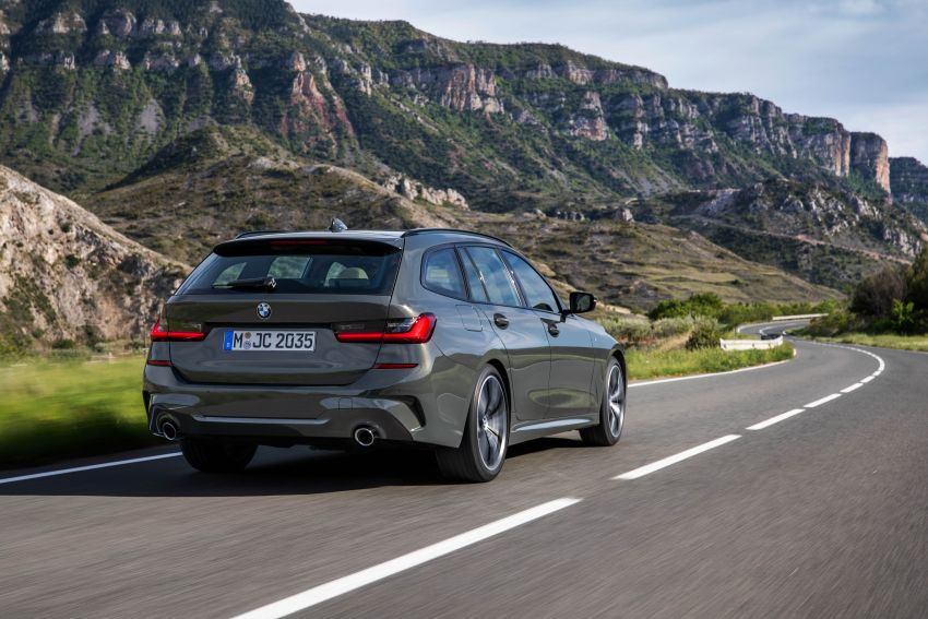 G21 BMW 3 Series Touring debuts – better practicality Image #970474