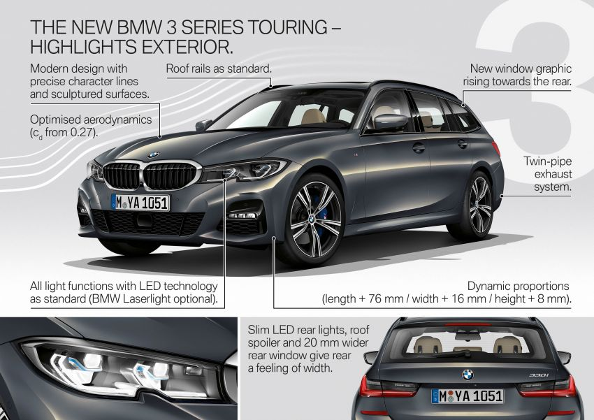 G21 BMW 3 Series Touring debuts – better practicality Image #970616