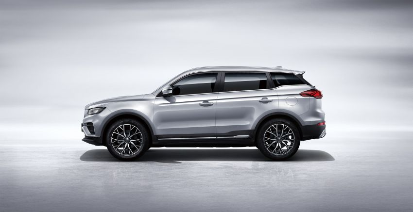 Geely Boyue Pro revealed – SUV gets a major styling update; new GKUI 19 infotainment system; 1.5L turbo Image #978033