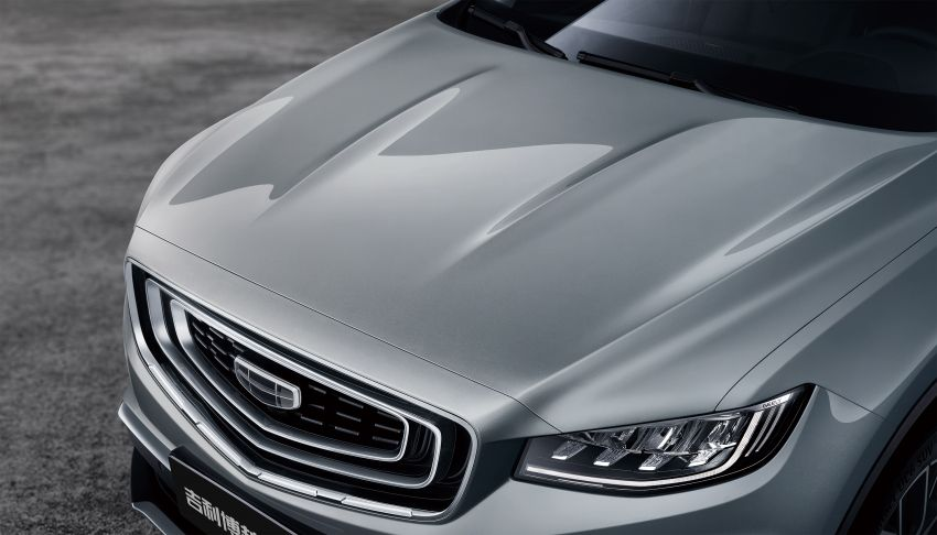Geely Boyue Pro revealed – SUV gets a major styling update; new GKUI 19 infotainment system; 1.5L turbo Image #978034
