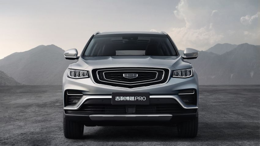 Geely Boyue Pro revealed – SUV gets a major styling update; new GKUI 19 infotainment system; 1.5L turbo Image #978026