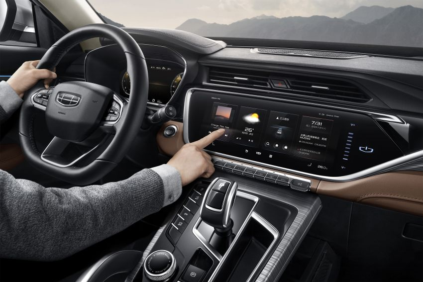 Geely Boyue Pro revealed – SUV gets a major styling update; new GKUI 19 infotainment system; 1.5L turbo Image #978029