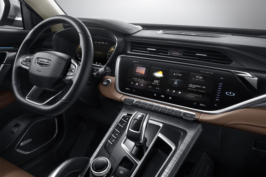 Geely Boyue Pro revealed – SUV gets a major styling update; new GKUI 19 infotainment system; 1.5L turbo Image #978030