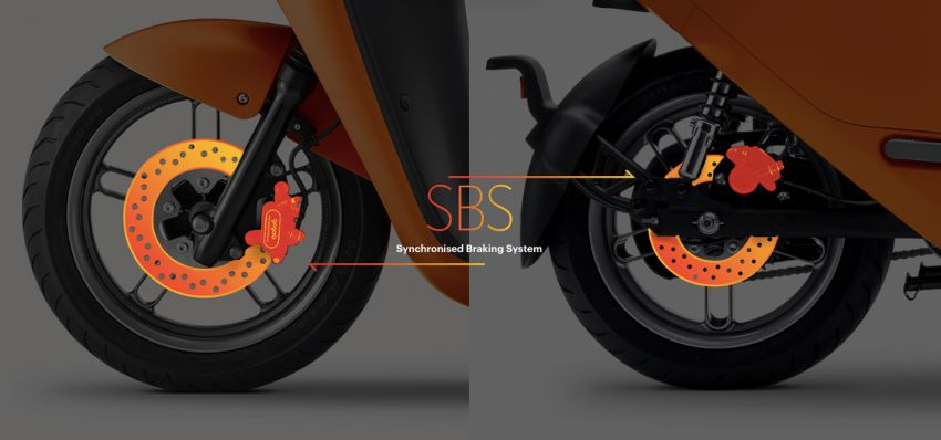 Yamaha uses Gogoro drive tech for EC-05 electric scooter in Taiwan, August 2019 release date Image #970134