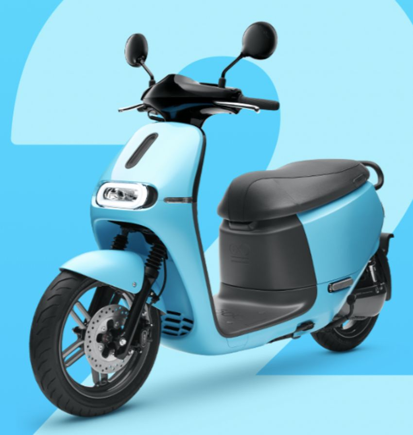 Yamaha uses Gogoro drive tech for EC-05 electric scooter in Taiwan, August 2019 release date Image #970122