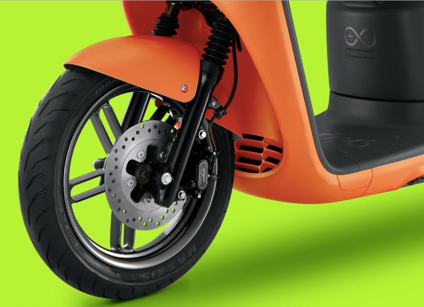 Yamaha uses Gogoro drive tech for EC-05 electric scooter in Taiwan, August 2019 release date Image #970141