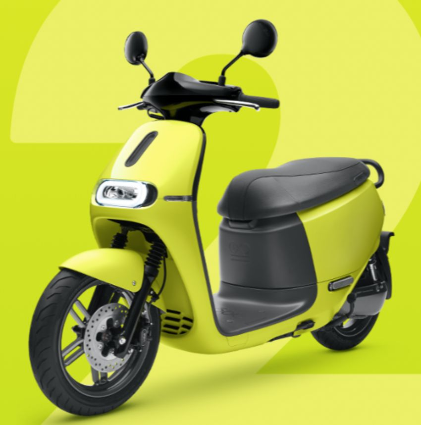 Yamaha uses Gogoro drive tech for EC-05 electric scooter in Taiwan, August 2019 release date Image #970123
