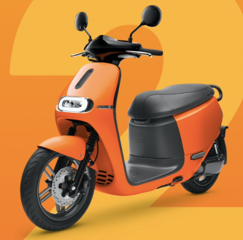 Yamaha uses Gogoro drive tech for EC-05 electric scooter in Taiwan, August 2019 release date Image #970124