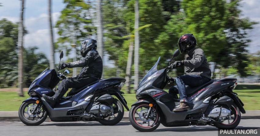 REVIEW: 2019 Honda PCX Hybrid and PCX 150 Image #968566