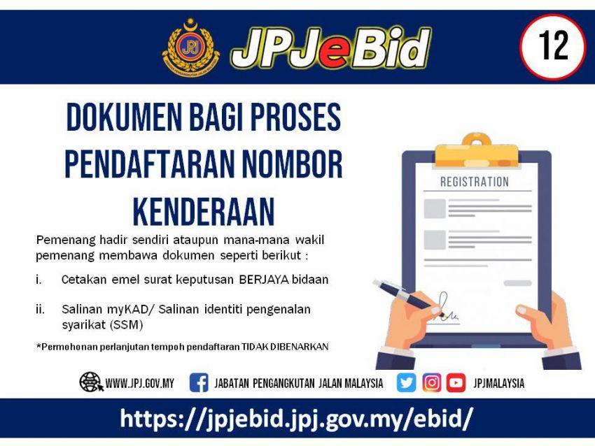 JPJ teruskan sistem bidaan nombor pendaftaran atas talian untuk Wilayah Persekutuan, VDN bermula 21 Jun Image #972561
