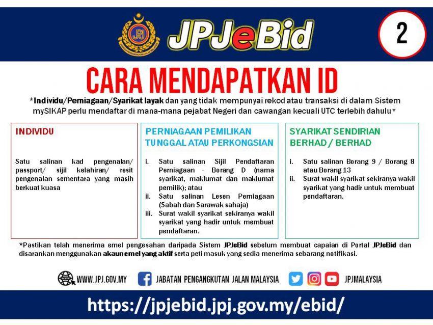 JPJ teruskan sistem bidaan nombor pendaftaran atas talian untuk Wilayah Persekutuan, VDN bermula 21 Jun Image #972573