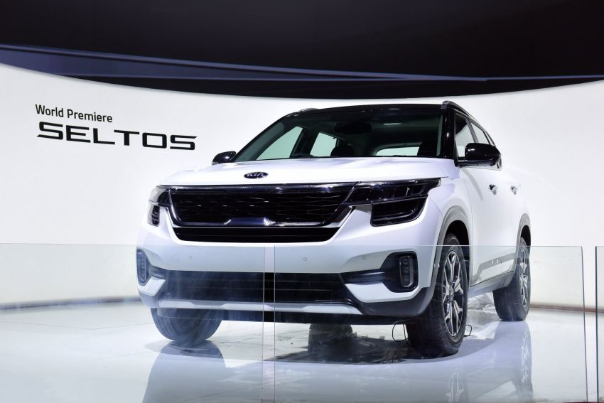 Kia Seltos – SUV segmen-B global diperkenalkan Image #974771