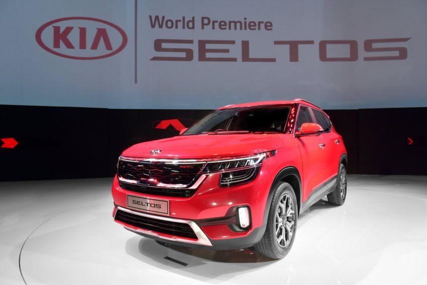 Kia Seltos – SUV segmen-B global diperkenalkan Image #974772