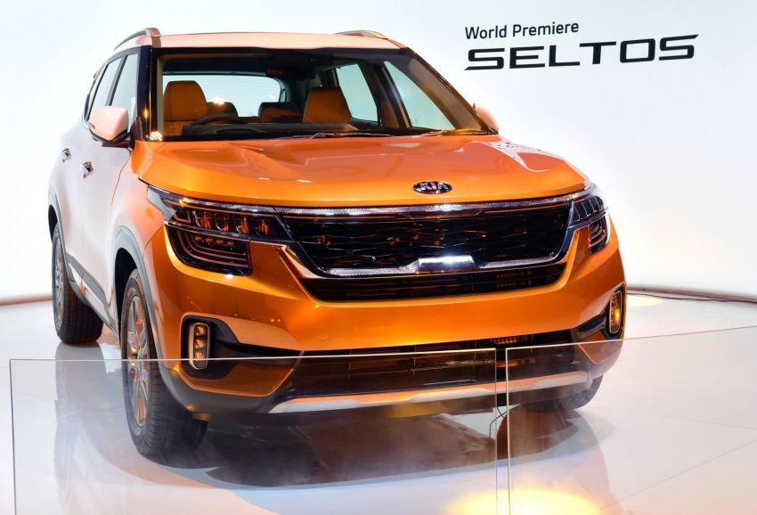 Kia Seltos – SUV segmen-B global diperkenalkan Image #974774