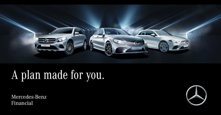 AD: Mercedes-Benz Agility Financing Plans now offer complimentary service packages and motor insurance Image #974073
