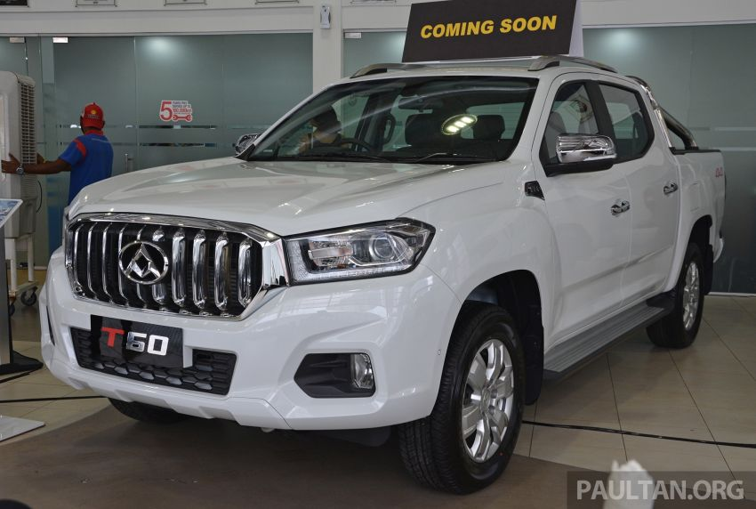Maxus T60 pick-up truck open for booking in Malaysia – RM99k OTR for top-spec 2.8L AT, first batch CBU Image #978630