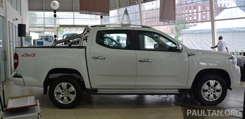 Maxus T60 pick-up truck open for booking in Malaysia – RM99k OTR for top-spec 2.8L AT, first batch CBU Image #978631