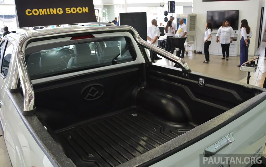 Maxus T60 pick-up truck open for booking in Malaysia – RM99k OTR for top-spec 2.8L AT, first batch CBU Image #978654