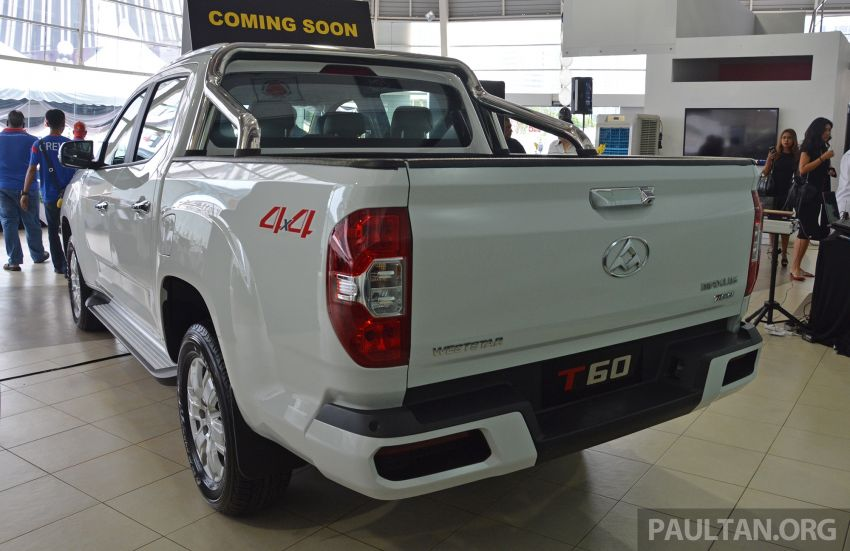 Maxus T60 pick-up truck open for booking in Malaysia – RM99k OTR for top-spec 2.8L AT, first batch CBU Image #978632