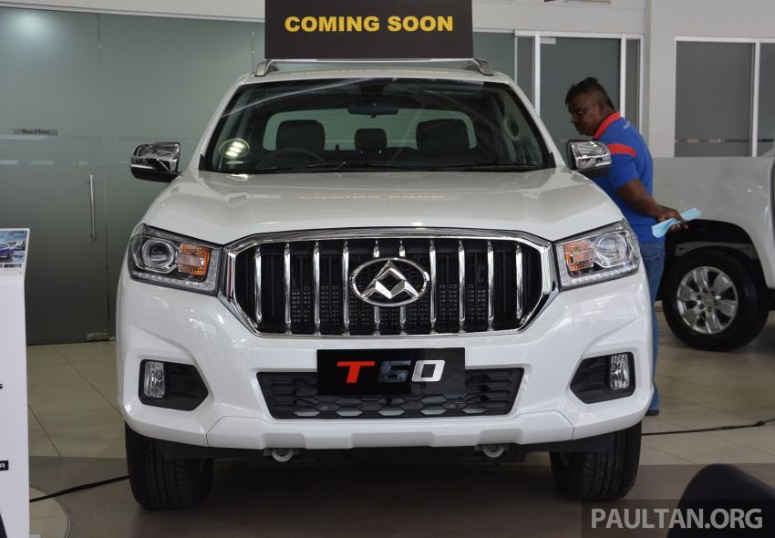 Maxus T60 pick-up truck open for booking in Malaysia – RM99k OTR for top-spec 2.8L AT, first batch CBU Image #978636