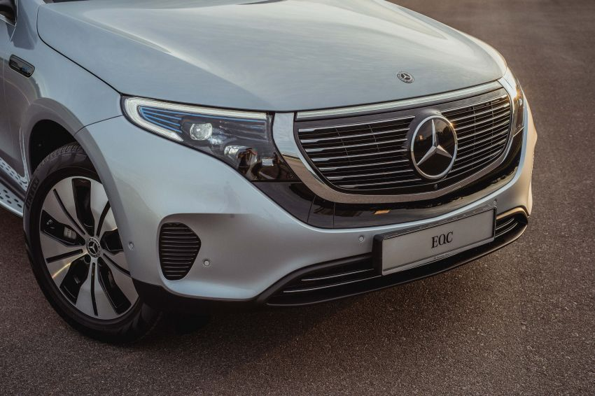 Mercedes-Benz EQC EV previewed in M'sia – 402 hp, 765 Nm, 417 km range, coming 2020 from RM600k est Image #971325