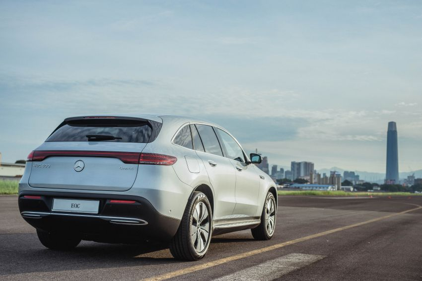 Mercedes-Benz EQC EV previewed in M'sia – 402 hp, 765 Nm, 417 km range, coming 2020 from RM600k est Image #971401