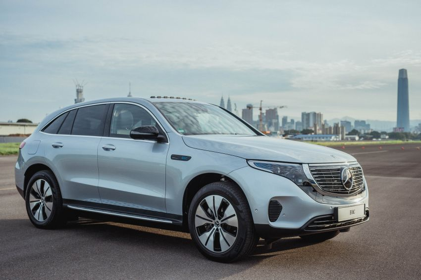 Mercedes-Benz EQC EV previewed in M'sia – 402 hp, 765 Nm, 417 km range, coming 2020 from RM600k est Image #971411