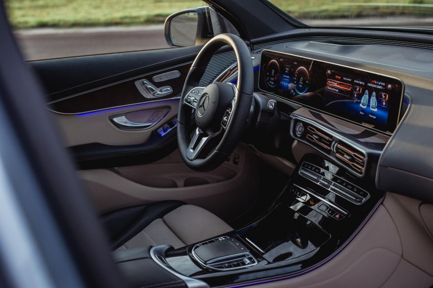 Mercedes-Benz EQC EV previewed in M'sia – 402 hp, 765 Nm, 417 km range, coming 2020 from RM600k est Image #971335