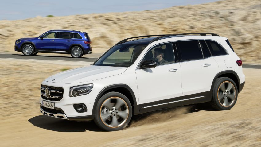 Mercedes-Benz GLB shown: compact SUV with 7 seats Image #969977