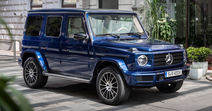 Mercedes G-Class 'Stronger Than Time' Edition debuts Image #973013