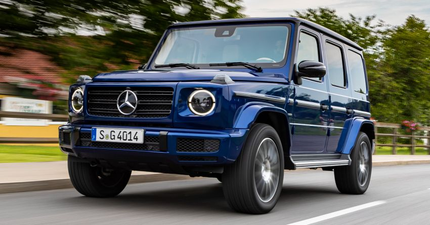 Mercedes G-Class 'Stronger Than Time' Edition debuts Image #973022