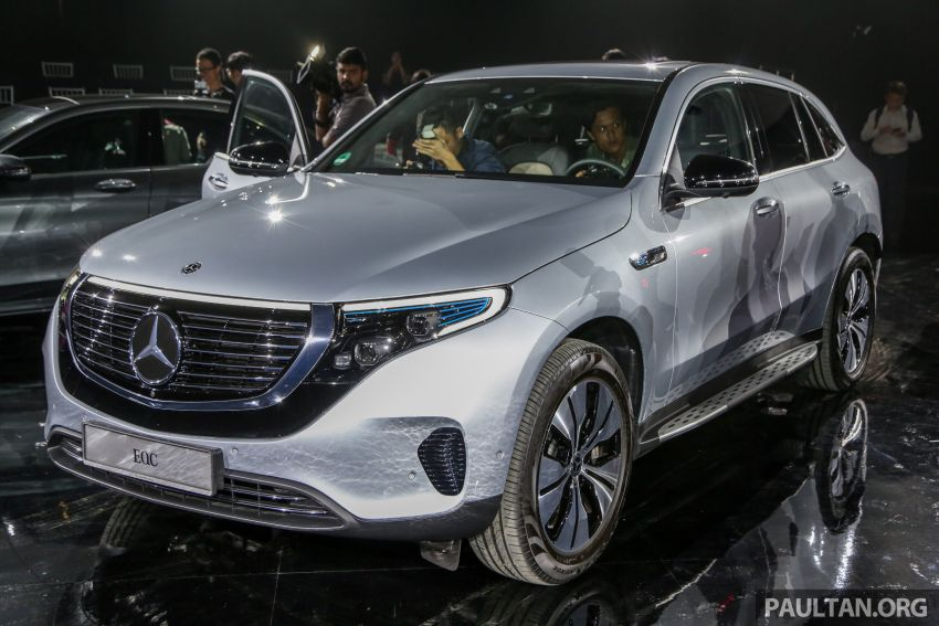 Mercedes-Benz EQC EV previewed in M'sia – 402 hp, 765 Nm, 417 km range, coming 2020 from RM600k est Image #971634