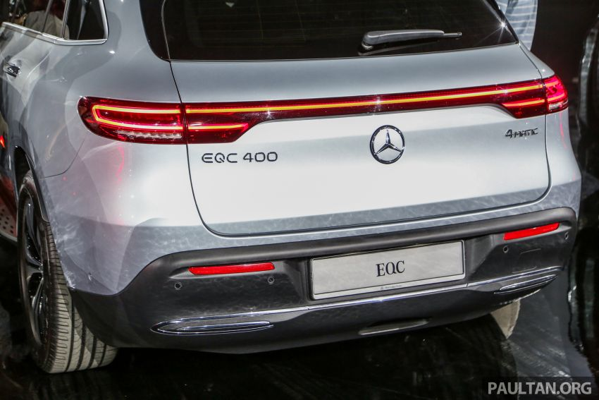 Mercedes-Benz EQC EV previewed in M'sia – 402 hp, 765 Nm, 417 km range, coming 2020 from RM600k est Image #971653