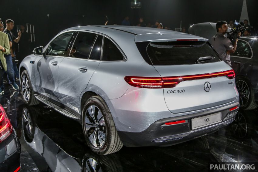 Mercedes-Benz EQC EV previewed in M'sia – 402 hp, 765 Nm, 417 km range, coming 2020 from RM600k est Image #971635