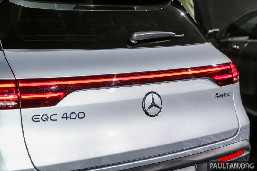 Mercedes-Benz EQC dipamerkan di M'sia – 408 hp/765 Nm, tempahan tahun 2020, anggaran dari RM600k Image #971524