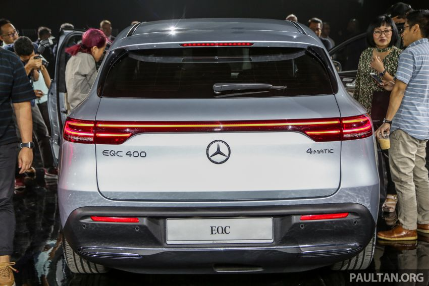 Mercedes-Benz EQC EV previewed in M'sia – 402 hp, 765 Nm, 417 km range, coming 2020 from RM600k est Image #971636