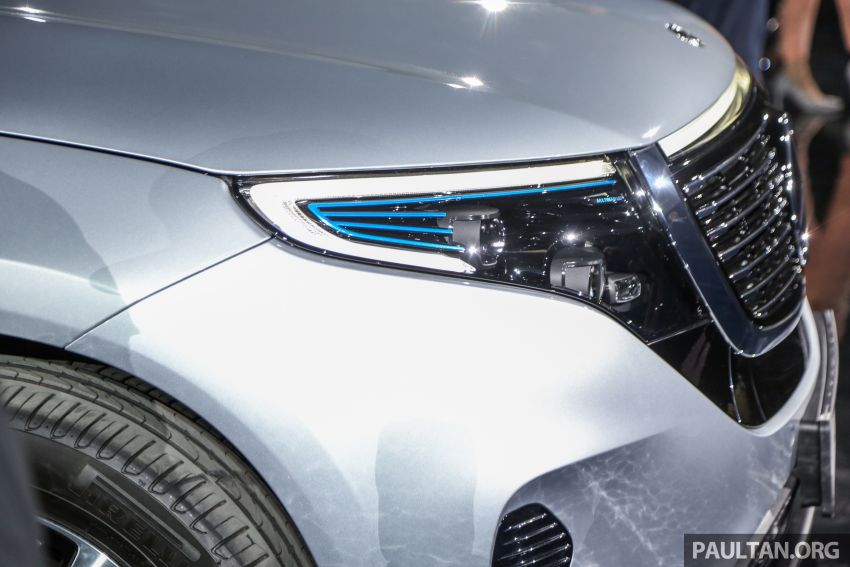 Mercedes-Benz EQC EV previewed in M'sia – 402 hp, 765 Nm, 417 km range, coming 2020 from RM600k est Image #971639