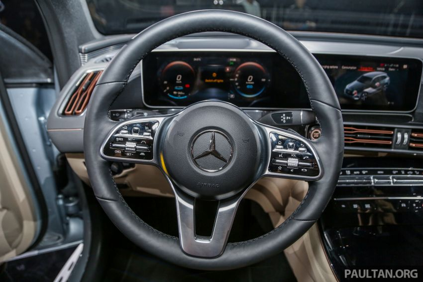Mercedes-Benz EQC EV previewed in M'sia – 402 hp, 765 Nm, 417 km range, coming 2020 from RM600k est Image #971671