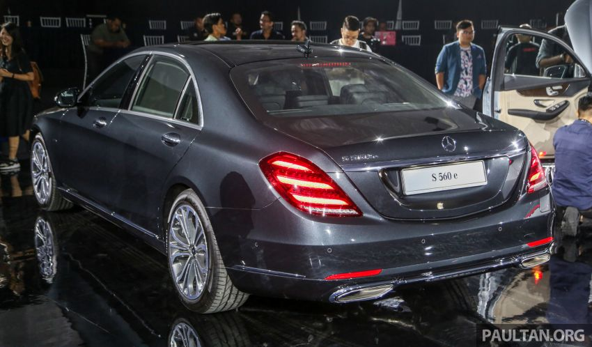 W222 Mercedes-Benz S560e PHEV in Malaysia – 469 hp and 700 Nm, 50 km all-electric range, RM658,888 Image #971532