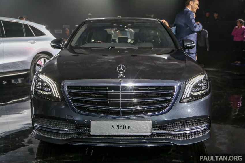 W222 Mercedes-Benz S560e PHEV in Malaysia – 469 hp and 700 Nm, 50 km all-electric range, RM658,888 Image #971533