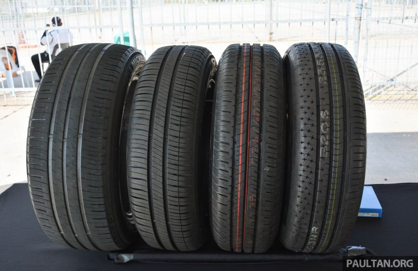 Michelin Energy XM2+ sampled at Sepang – does it perform better in the wet compared to its competitors? Image #976470